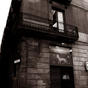 barcleona-spain-old-building